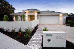 Contemporary australian beach home facade